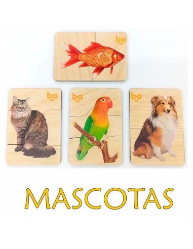 Mi primer puzle Mascotas