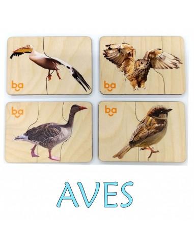 Mi primer puzle Aves