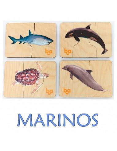 Mi primer puzle Animales marinos