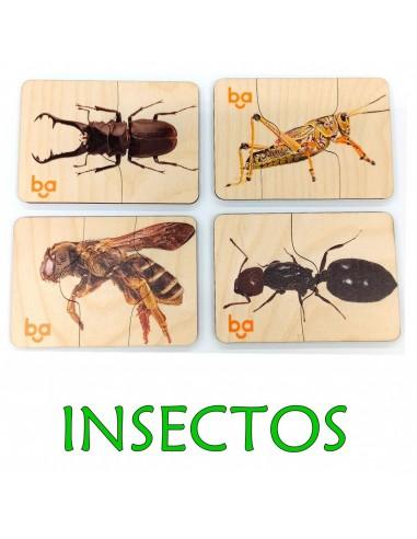 Mi primer puzle Insectos