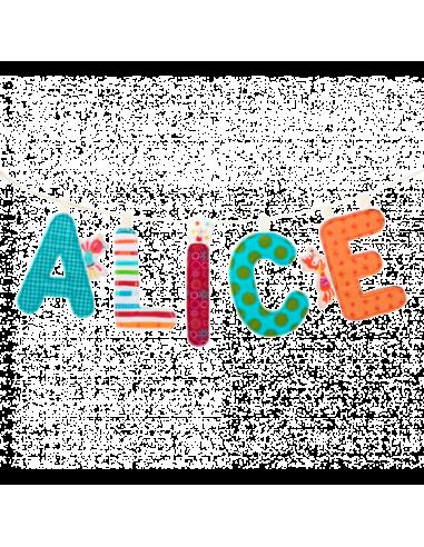 Cinta de tela para letras