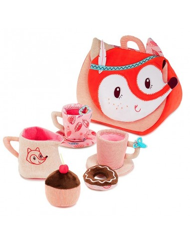Juego de té de la vulpina Alice