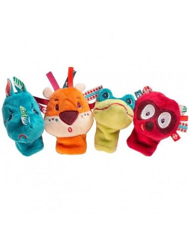 Marionetas de dedo de animales de la...