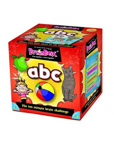 Juego de memoria ABC en inglés