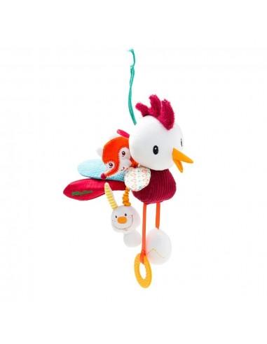 Muñeco de actividades del gallo John